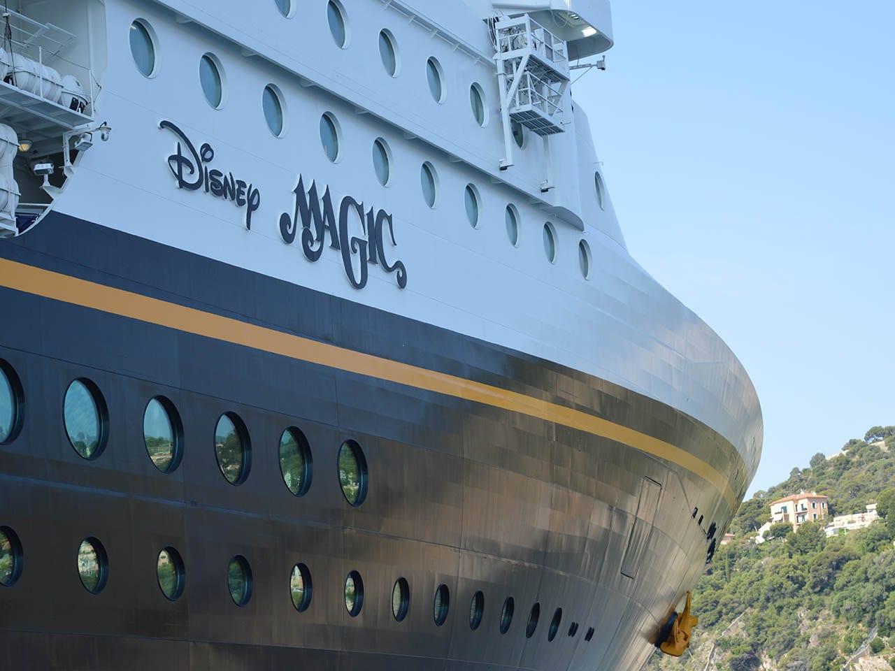Une typographie qu'on reconnait entre mille, bateau disney cruise line, disney magic