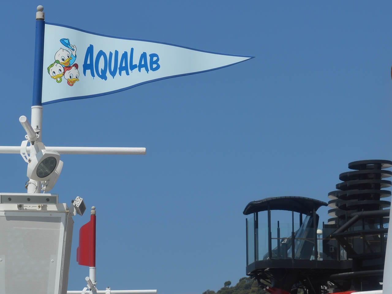 Aqualab : le parc aquatique pour enfant du Disney Magic