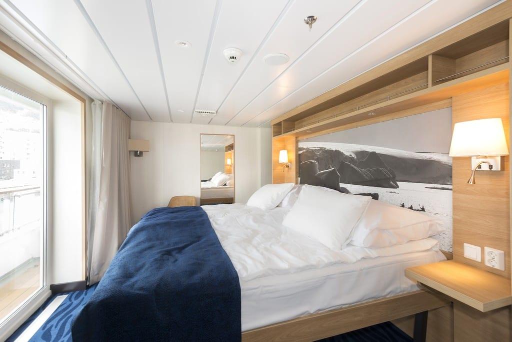 Hurtigruten cabine suite