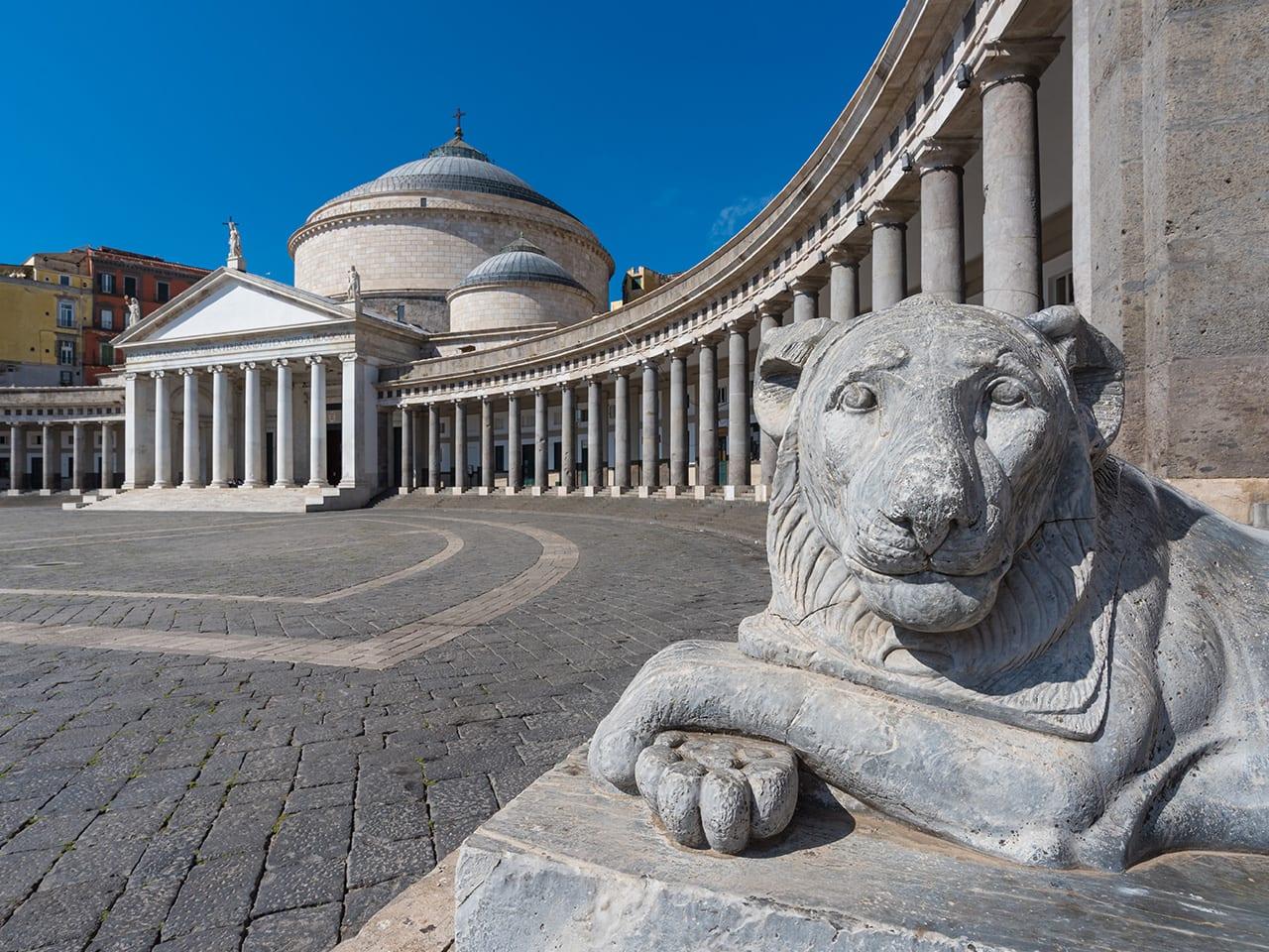 Naples, au coeur historique de la ville