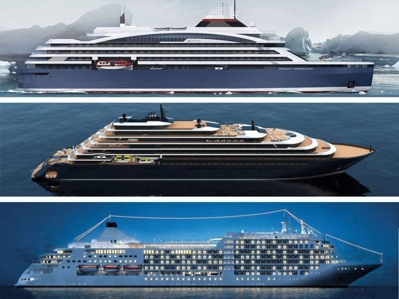 top des yachts de luxe que les compagnies de croisières vont lancer en 2020