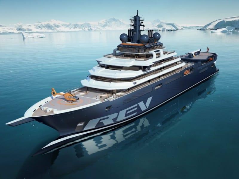le REV Ocean, prochain navire de croisière d'expédition polaire