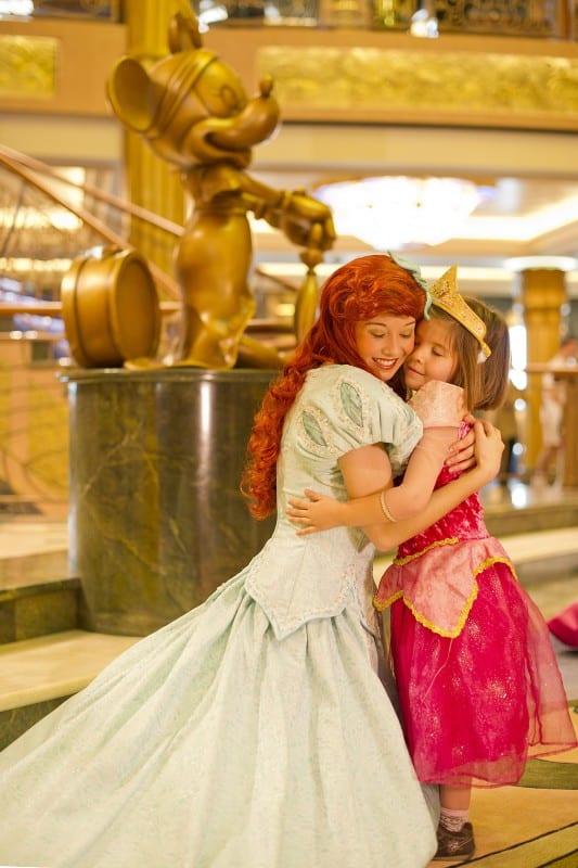 les petites filles pourront passer des moments privilégiés avec des princesses Disney