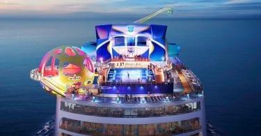 L'Odyssey of the Seas, premier navire de la classe Quantum Ultra à faire son apparition en Occident fera sa saison inaugurale en Méditerranée en 2020
