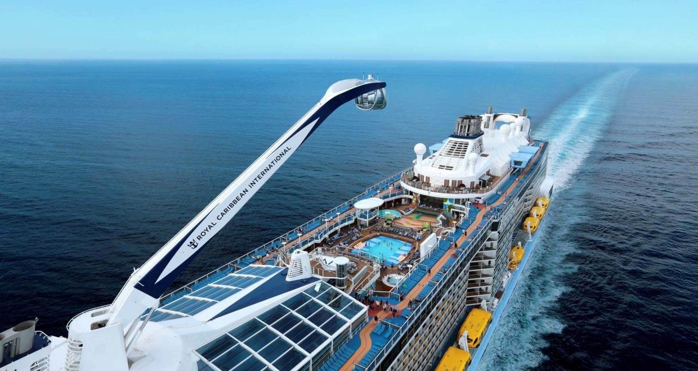 L'Anthem of the Seas, cinquième navire le plus grand de croisière au monde