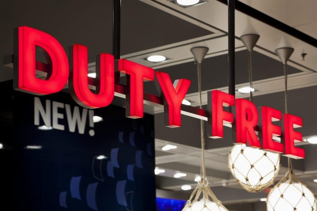 le duty free sur les navires, qu'est-ce qu'on peut ramener, que peut-on acheter ?
