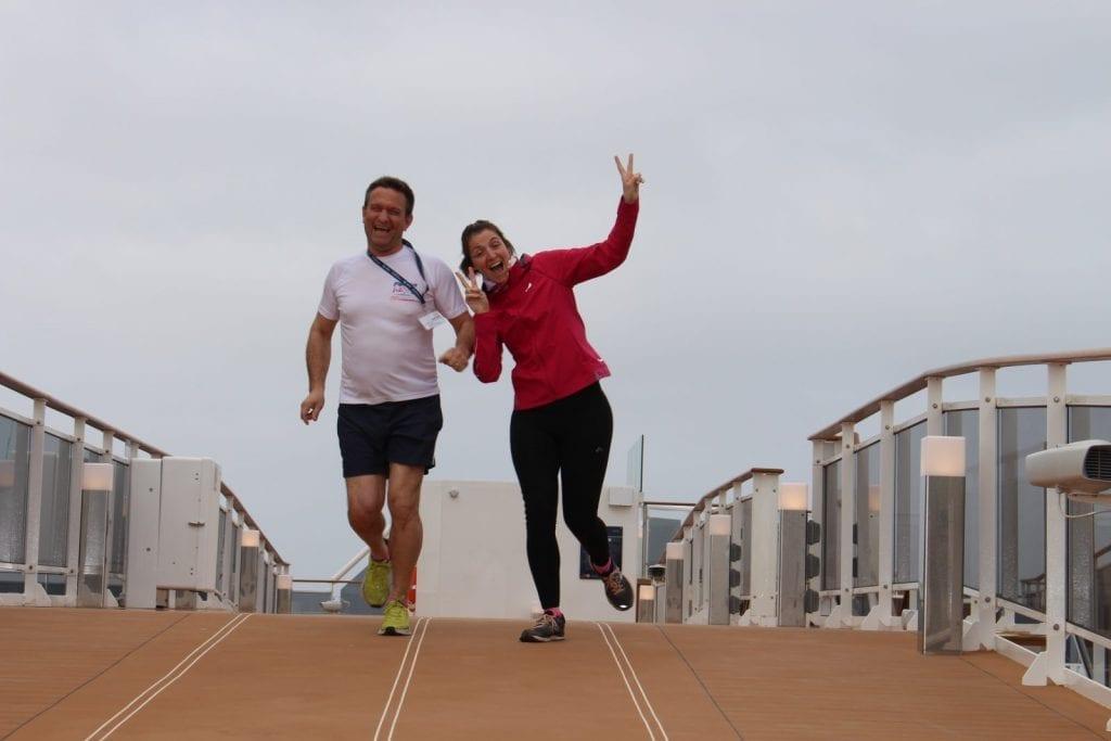 Petit jogging sur le MSC Bellissima