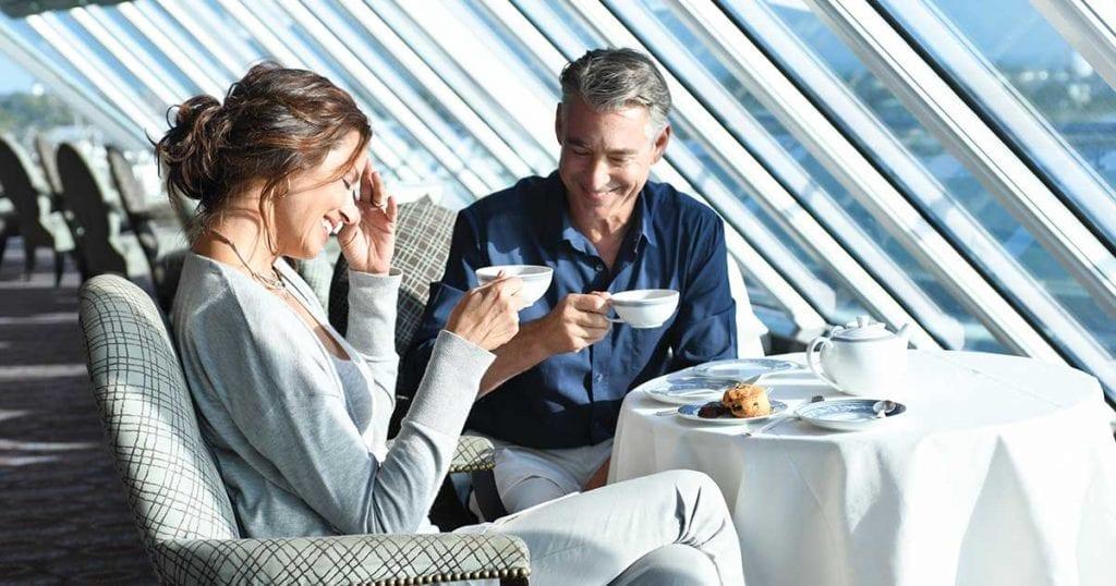 Des dîners gastronomiques seront prévus à la table d'Oceania