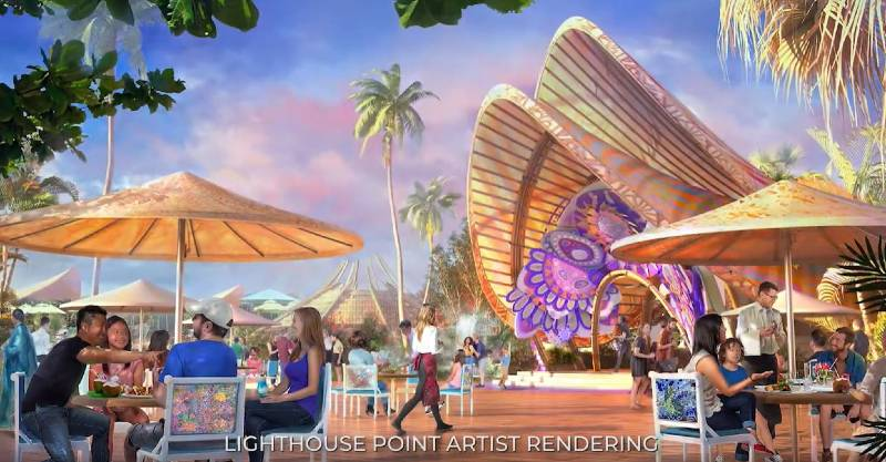 Disney cruise Line project art for Lighthouse point